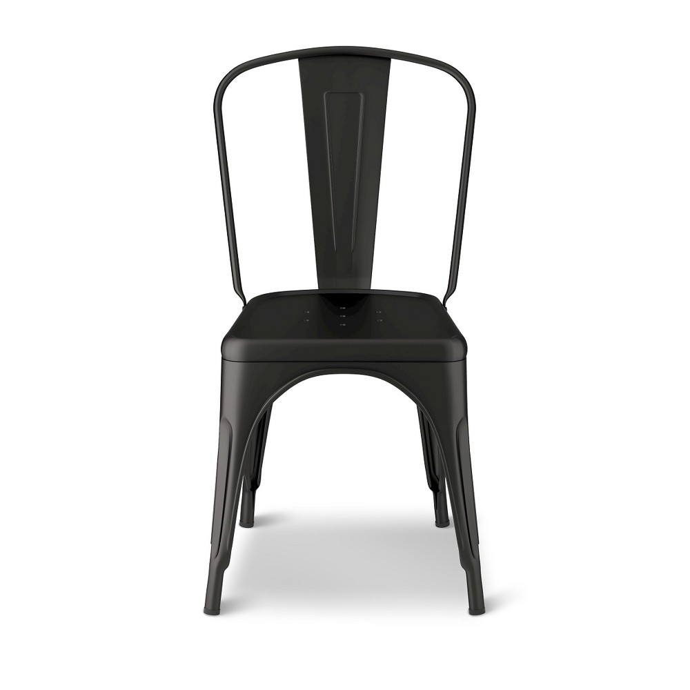 Industrial Kids Desk Chair - Matte Ebony - Pillowfort