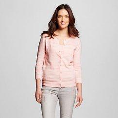 Women's 3/4 Sleeve Slub Favorite Cardigan- Merona™