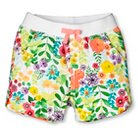 Toddler Girls' Floral Chino Short White - Cherokee®