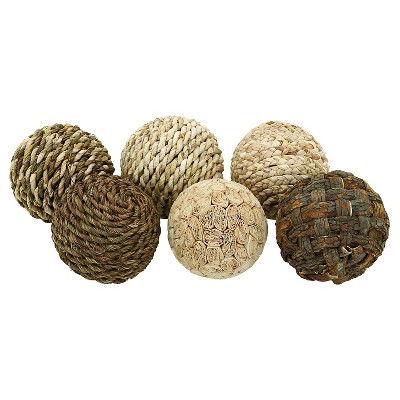 Decorative Ball with Beautiful Design (set of 6)