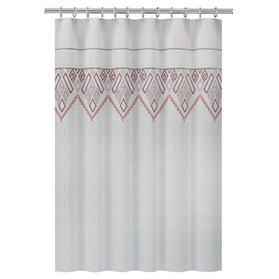 Nate Berkus™ Shower Curtain - Embroidered Panel