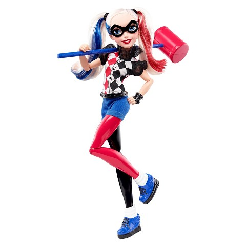 DC Super Hero Girls Harley Quinn 12 Action Doll Product Details Page