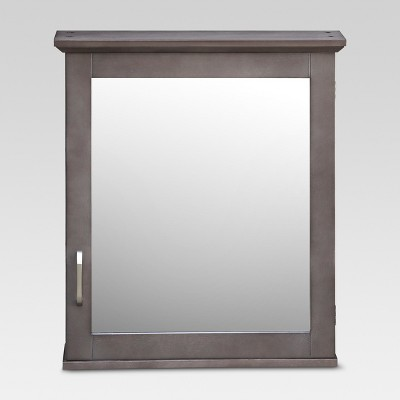 Threshold™ Wood Medicine Cabinet - Grey