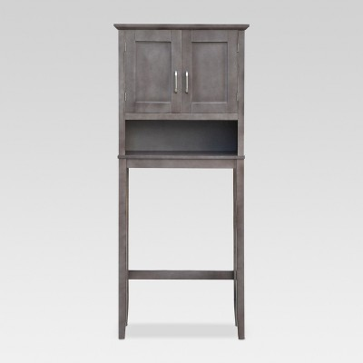 Threshold™ Wood Etegere - Grey