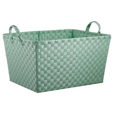 Woven Storage Bin Rectangular Mint - Pillowfort™