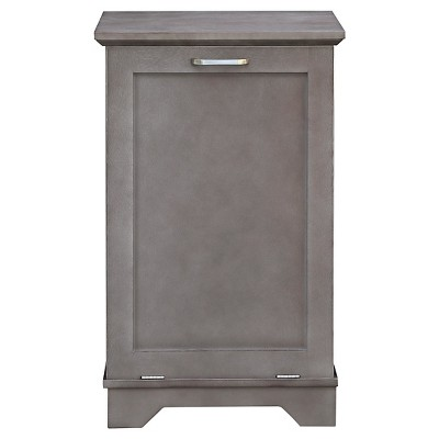 Threshold™ Wood Hamper - Grey
