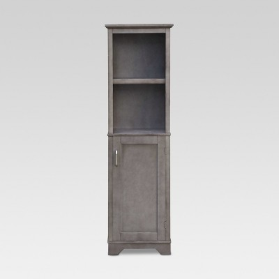 Wood Linen Tower Grey - Threshold™