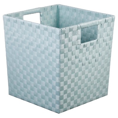 Woven Storage Bin Large Mint - Pillowfort™