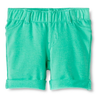 Baby Girls' Bermuda Jegging Short Green 12M - Circo™