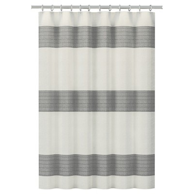 Nate Berkus™ Shower Curtain - Woven Geo