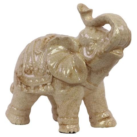 Enthralling Ceramic Elephant Statue Target