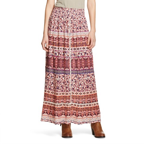 s tiered maxi skirt mossimo supply co target
