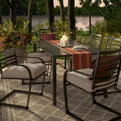 Ft. Walton 7-Piece Motion Patio Dining Set - Tan - Threshold™