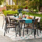 Threshold&#153 Sommer 9pc Faux Wood Dining Set