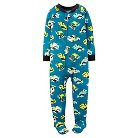 Just One You™ Made by Carter's® Toddler Boys' Car Footed Pajama Teal