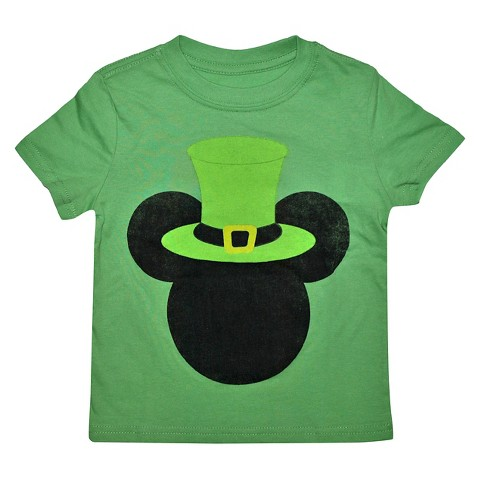 toddler boys 39 mickey mouse t shirt green product details page. Black Bedroom Furniture Sets. Home Design Ideas