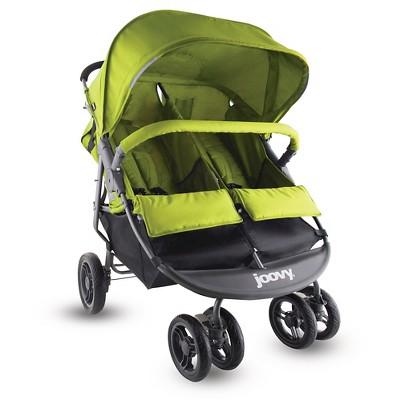 Joovy ScooterX2 Double Stroller - Greenie