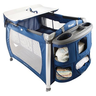 Joovy Room Playard with Bassinet and Changing Table - Blueberry