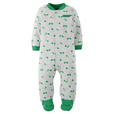 Just One You™Made by Carter's® Baby Boys' Frogs Sleep N' Play - Grey/Green NB