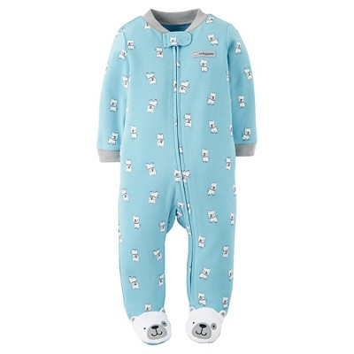 Just One You™Made by Carter's® Baby Boys' Puppies Sleep N' Play - Blue 9 M