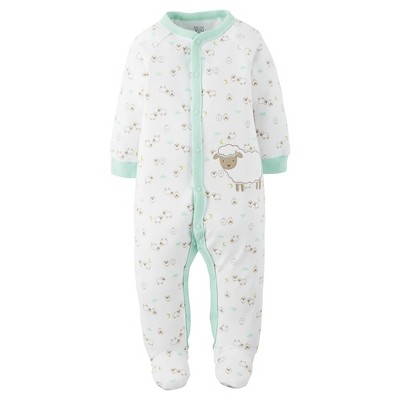 Just One You™Made by Carter's® Baby Sheep Sleep N' Play - White/Mint 9 M