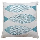 Threshold™ Three Fish Icon Pillow - Blue