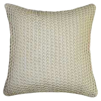 Knit Throw Pillow - Beige - Threshold™
