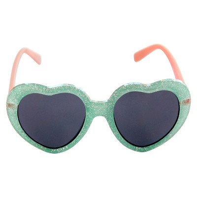 Toddler Girls' Hearts Sunglasses Blue - Circo™