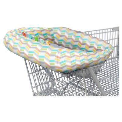 Comfort & Harmony® Reversible Cozy Cart Cover in Cheerful Chevron