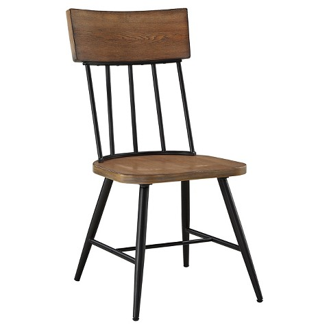 jorwyn dining room side chair set of 2 wood light brown signature