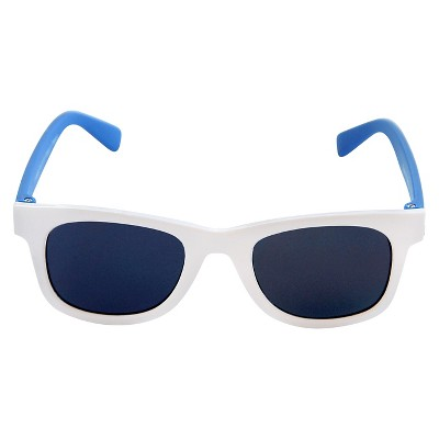 Toddler Boys' Surfer Shade Sunglasses White/Blue - Circo™