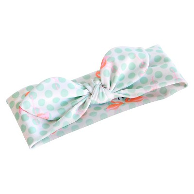 Toddler Girls' Flamingo Polka Dot Headwrap - Circo™