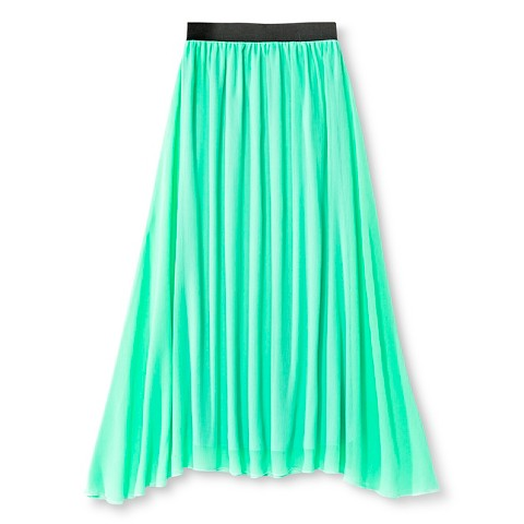 say what maxi skirt mint green target