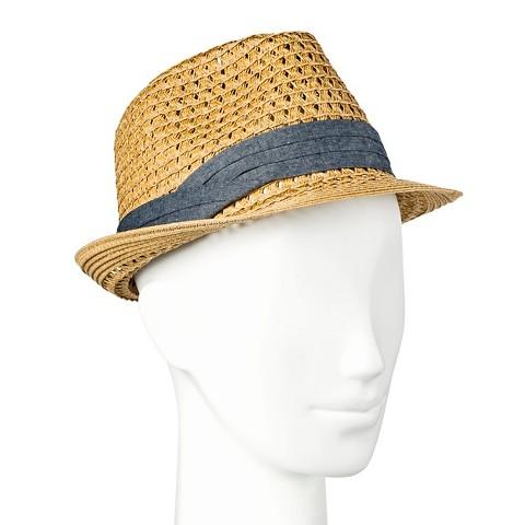 s hat fedora chambray band merona target