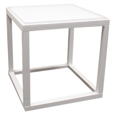 Stackable Cubic Table White - Ore International