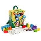 Kids@Work Crayola Building Blocks - 50 Piece
