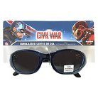 Marvel Captain America Boys' Oval Sunglasses - Blue OSFM