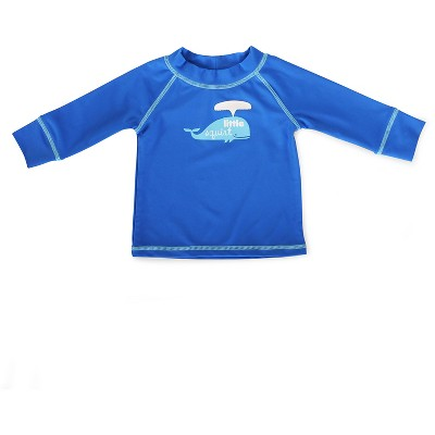 Baby Boys' Whale Swim Rash Guard Blue 6-9M - Circo™