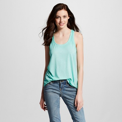 Women's Loose Tank Nettle Green XS - Mossimo Supply Co. (Junior's)