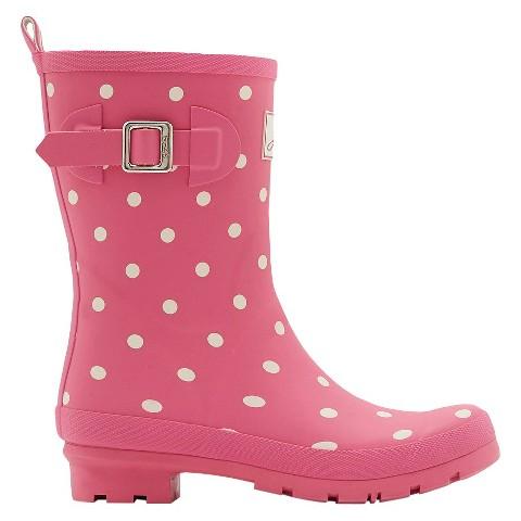 Simple Women39s Premier Short Rain Boots  Red  Target