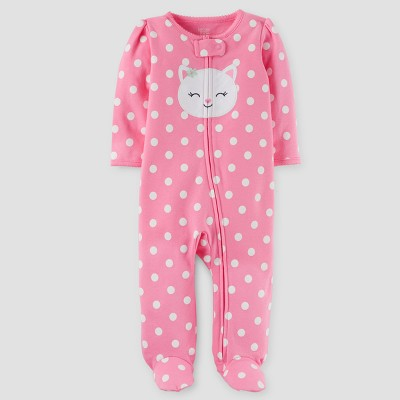 Just One You™Made by Carter's®  Newborn Girls' Sleep N Play Footed Sleepers - Pink 3M
