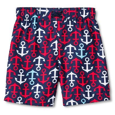 Baby Boys' Anchor Swim Trunk Navy 9M - Circo™