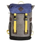 Men's Backpack Photo Real Multi-Colored One Size