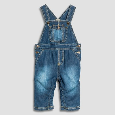 Baby Boys' Gifting Overall Dark Denim 3-6M - Cherokee®