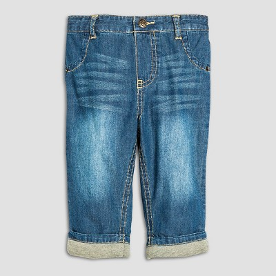 Male Jeans Cherokee Denim Blue 0-3 M