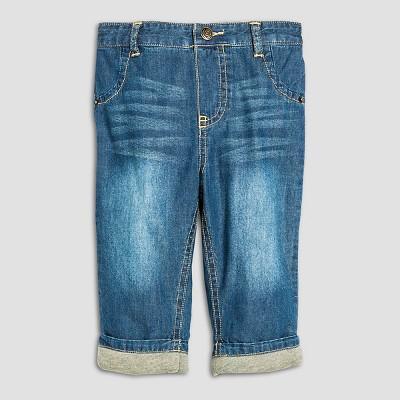 Baby Boys' Gifting Pant Dark Denim 6-9M - Cherokee®
