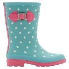 Girls' Joules® Dot Print Welly Rain Boots