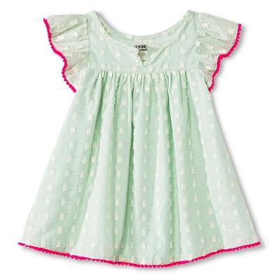 Baby Girls' Clipspot Dress Green 12M - Genuine Kids from Oshkosh™