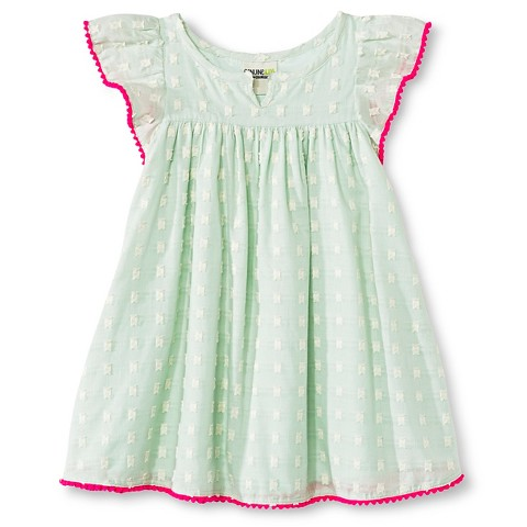 Toddler Girls' Clipspot Dress Green - Genuine Kids from Oshkosh™