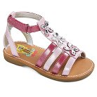 Toddler Girls' Rachel Shoes India Jeweled Gladiator Sandals - Pink